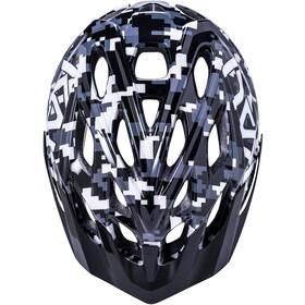 Kali Chakra Pixel Helm Kinderen, black